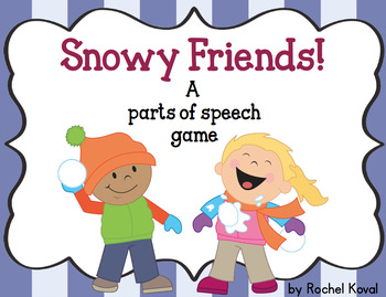 Snowy Friends! A parts of speech game