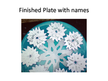 Let It Snow a Snowflake Art Craft