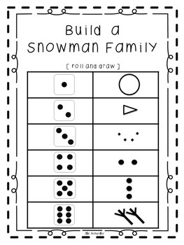 Snowy Math Centers [Seven Snowy Activities]