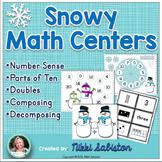 Snowy Math Centers