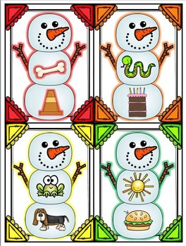 Winter and Snow Math and Literacy Centers
