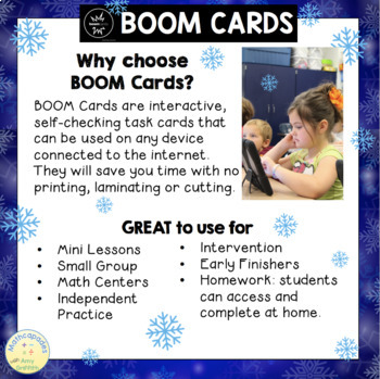 2 Digit by 1 Digit Multiplication BOOM Digital Task Cards