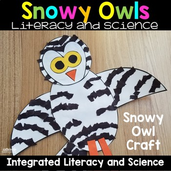 Snowy Owl Arctic Animals Nonfiction Unit
