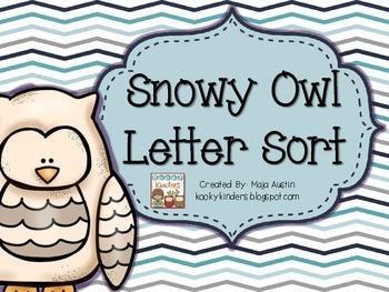 Snowy Owl Letter Sort