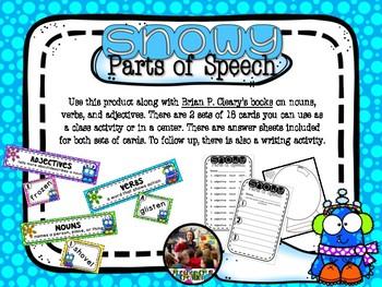Snowy Parts of Speech