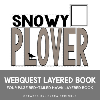 Snowy Plover Webquest Layered Book