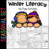 Winter Literacy Printable Pack