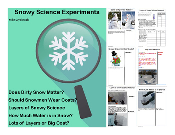 Snowy Science at School - Real Science, Real Snow