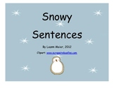 Snowy Sentence Building