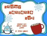 Snowy Sentence Sort