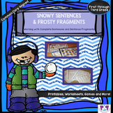 Complete Sentences and Fragments Grammar for Literacy Centers