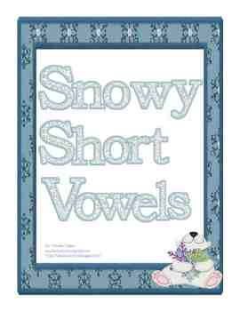 Snowy Short Vowels: Literacy Game