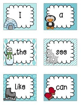 Snowy Sight Word Search