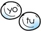 Snowy Sight Words in Spanish
