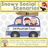 Snowy Social Scenarios - Leveled