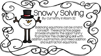 Snowy Solving