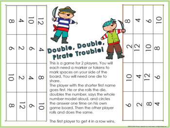 Addition Doubles Strategy Winter Games