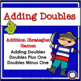 Addition Doubles Strategy Pirate Games