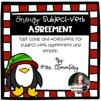 Snowy Subject-Verb Agreement