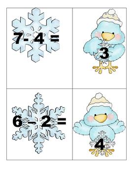 Snowy Subtraction