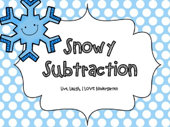 Snowy Subtraction-FREEBIE