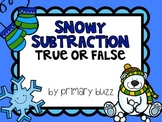 Snowy Subtraction - True or False?