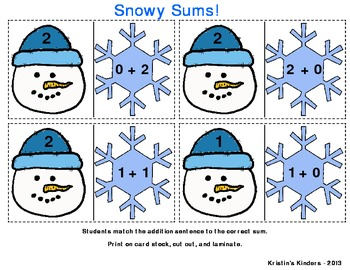 Snowy Sums