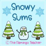 Snowy Sums (First Grade Go Math 3.11)