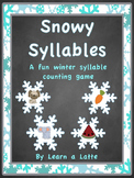 Snowy Syllables (Sorting Activity, Board Game, and Worksheet)