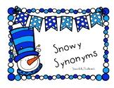 Snowy Synonyms