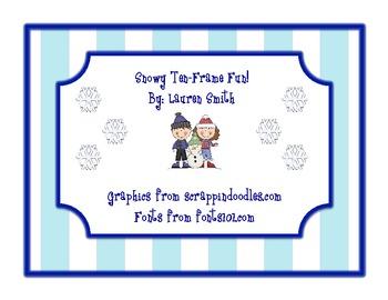Snowy Ten-Frame Fun