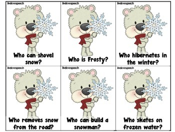 """Snowy """"WH"""" Questions"""