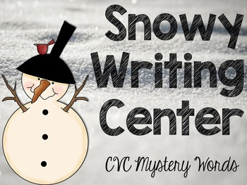 Snowy Writing Center Fun