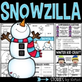 Snowzilla (Book Questions, Vocabulary, & Winter Kid Craft)