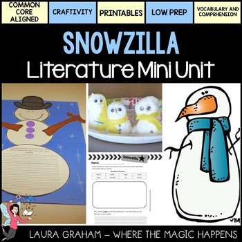 Snowzilla Literature Mini Unit