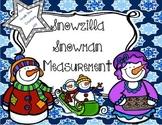 Winter Activities {Snowzilla Inspired Measurement}