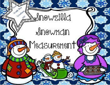 Winter Activities {Snowzilla Inspired Measurement}