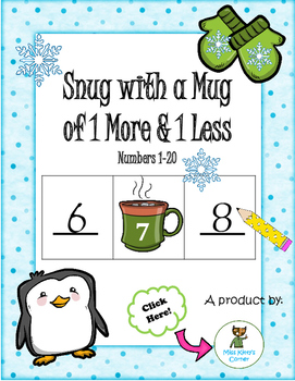Snug with a Mug of 1 More and 1 Less