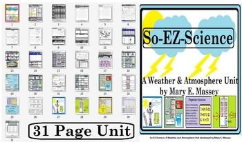 So-EZ-Science: Weather & Atmosphere Unit