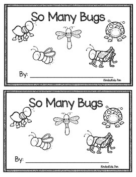 So Many Bugs Emergent Reader