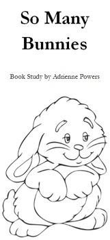 So Many Bunnies Book Study