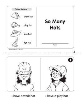 So Many Hats (Level B)
