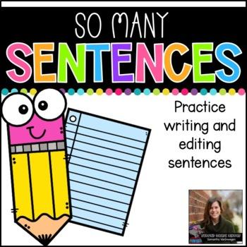 So Many Sentences