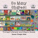 So Many Shapes! Virtual Library & Music Room - SEESAW & Go