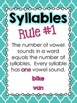 So Many Syllables:  Activities to help your students maste