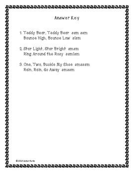 So Mi La Do Solfege Song Assessment