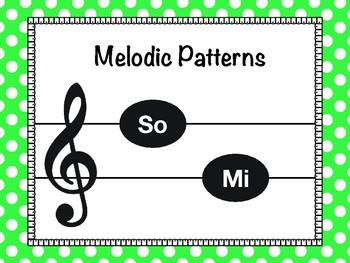 So-Mi Melody Flashcards