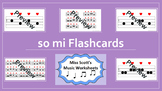 So Mi Music Flashcards {with Interactive file}