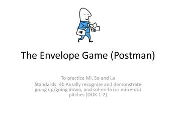 So (Sol) La Mi Practice: The Envelope Game