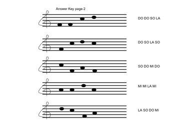Do Mi So (Sol) La Practice: The Envelope Game